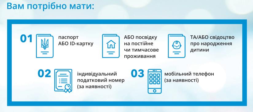 Документи для оформлення декларації з сімейним лікарем